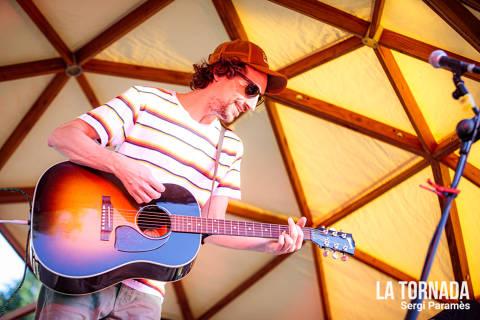 Xavier Calvet al festival Espurnes de Llagostera
