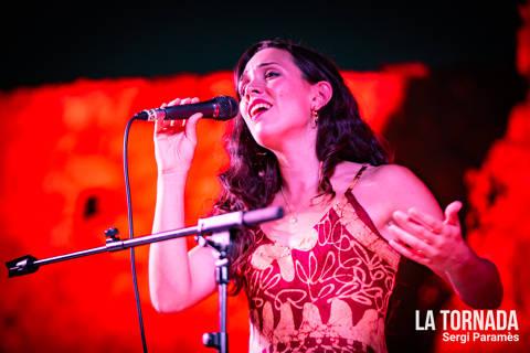 Carolina Alabau. Festival Espurnes. Llagostera