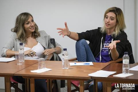 Mireia Badia i Gemma Polo. Soc Autor Tarragona